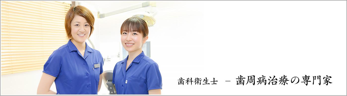 歯科衛生士 歯周病治療の専門家